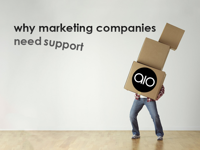 Why Marketing Companies Need Support