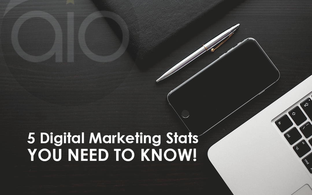 5 digital marketing stats you need to know